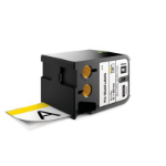 DYMO 1868714 label-making tape Black on white + yellow header