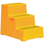 FSMISC PLASTIC SAFETY 3 STEP YELLOW 325100100