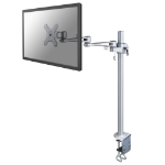 Newstar FPMA-D935POLE70 Flat panel Tischhalter 76,2 cm (30 Zoll) Silber