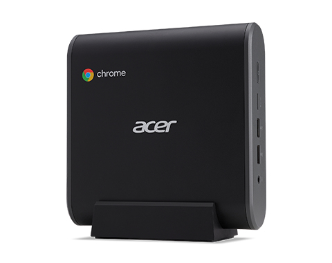Acer Chromebox CX13 1.8 GHz Intel® Celeron® 3867U Black Mini PC