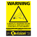 Xvision WSEXT warning sign