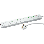 Videk 2088-SPI6 6AC outlet(s) 2m White surge protector