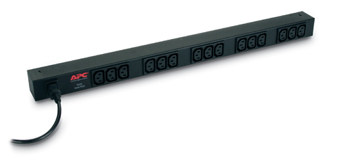 APC RACK PDU BASIC ZERO U 10A 230V power distribution unit (PDU) Black