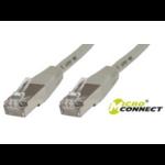 Microconnect CROSSED SSTP CAT6 15M 15m Grey