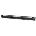 Tripp Lite 24-Port 1U Rack-Mount Cat6/Cat5 Feedthrough Patch Panel, RJ45 Ethernet