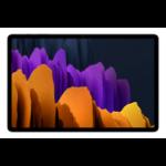 "Samsung Galaxy Tab S7+ 5G SM-T976B 31.5 cm (12.4"") Qualcomm Snapdragon 6 GB 128 GB Wi-Fi 6 (802.11ax) LTE Silver Android 10"