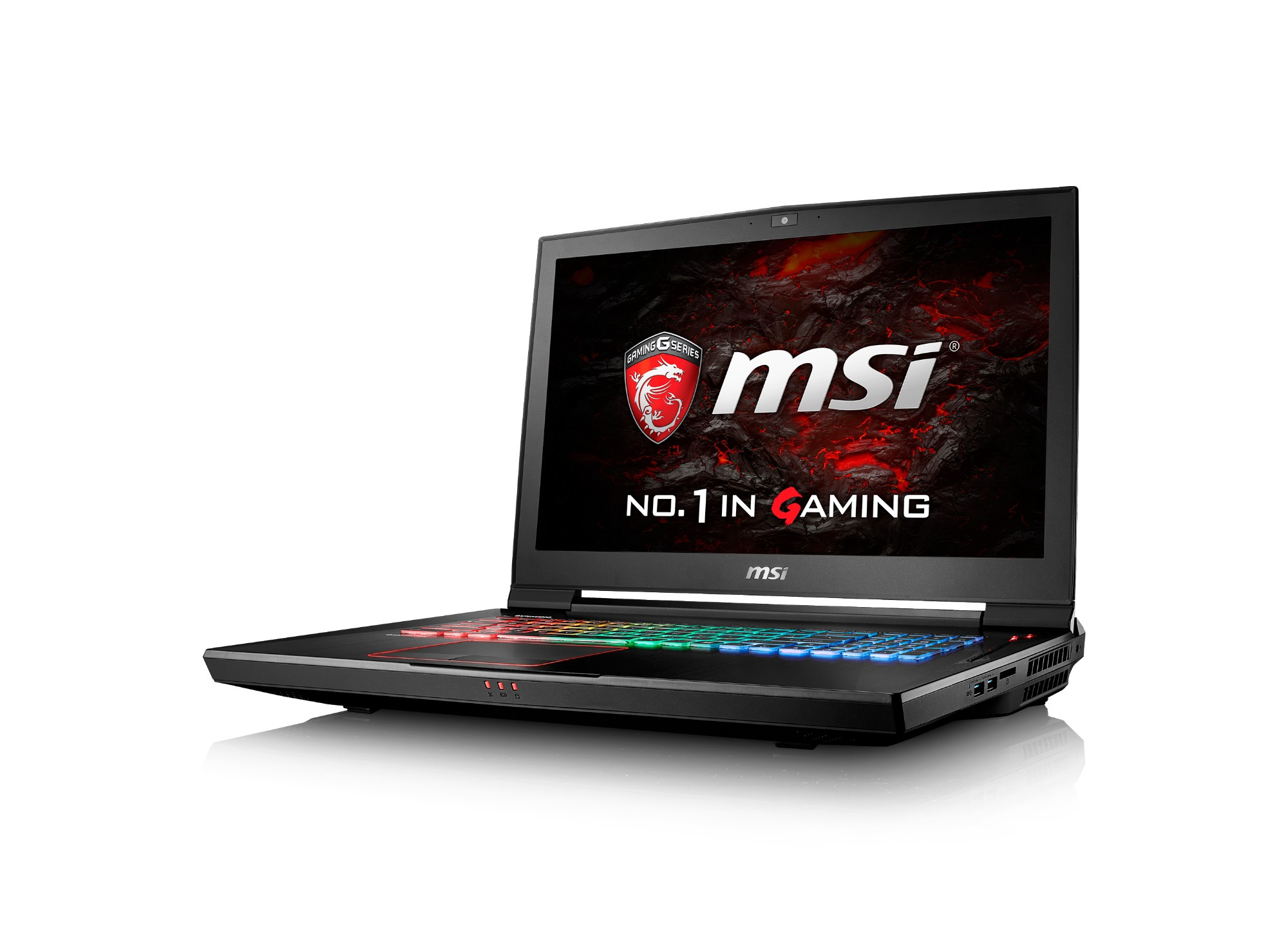 "MSI Gaming GT73VR 6RE-064UK Titan SLI 4K 2.7GHz i7-6820HK 17.3"" 3840 x 2160pixels Black Notebook"