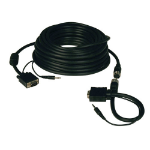 Tripp Lite P504-050-EZ 15.24m VGA (D-Sub) + 3.5mm VGA (D-Sub) + 3.5mm Black video cable adapter