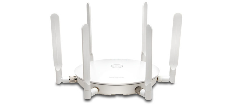 SonicWall SonicPoint N2 WLAN access point 1300 Mbit/s Power over Ethernet (PoE) Internal White