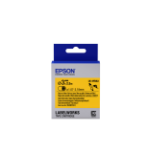 Epson Label Cartridge Heat Shrink Tube (HST) LK-4YBA3, zwart/geel D3 mm (2,5 m)