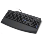 Lenovo Keyboard azerty FR prefered black PS/2 AZERTY keyboard