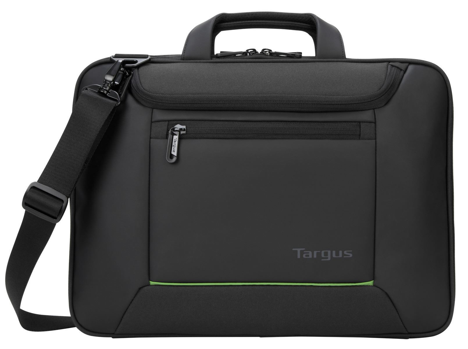 "Targus Balance Ecosmart 14"" notebook case 35.6 cm (14"") Briefcase Black"