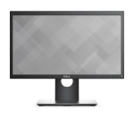 "DELL P2018H 19.5"" HD+ TN Matt Black Flat computer monitor DELL-P2018H"