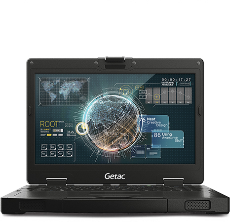 Getac S410 G2 Black Notebook 35.6 cm (14