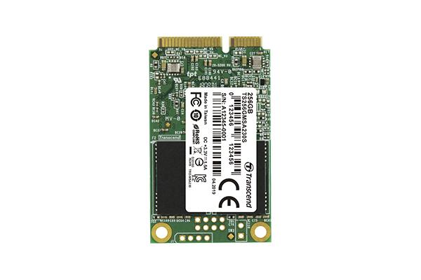 Transcend 230S mSATA 256 GB Serial ATA III 3D NAND