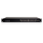 Ubiquiti Networks ES-24-500W-AU network switch Managed L2/L3 Gigabit Ethernet (10/100/1000) Power over Ethernet (PoE) 1U Black