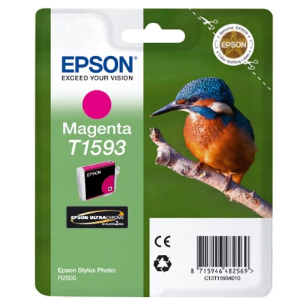 Epson C13T15934010 (T1593) Ink cartridge magenta, 17ml