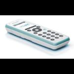Auerswald COMfortel M-310 DECT telephone handset Caller ID Cyan,White