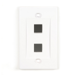 Black Box WPWH-2 wall plate/switch cover White