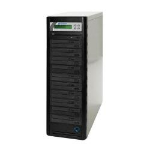 Microboards Technology QuicDisc DVD; 10 x DVD?RW (22x); 1 to 10 Stand-Alone Disc Duplicator; from Hypertec