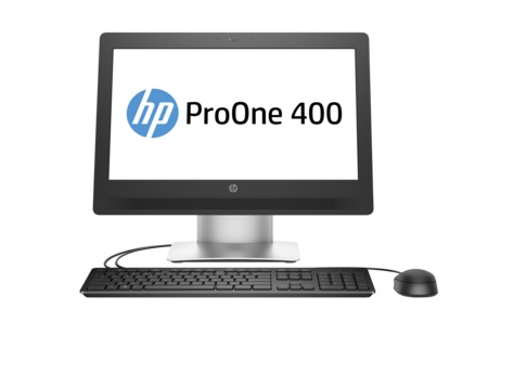 "HP ProOne 400 G2 2.5GHz i5-6500T 20"" 1600 x 900pixels Black,Silver"