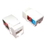 Cablenet Cat6 UTP 110 IDC Keystone White