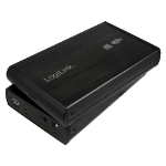 "LogiLink UA0107 storage drive enclosure 3.5"" Black"