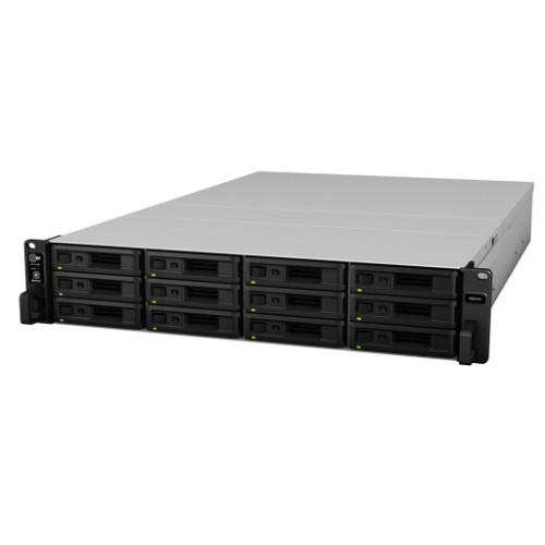 Synology RackStation RS2418+ Ethernet LAN Rack (1U) Black NAS