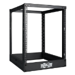 Tripp Lite 13U 4 Post Open Frame Server Rack, Adjustable Mounting Depth