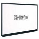 Bi-Office BI-SILQUE WHITEBOARD 900X600 BLACK FRAME