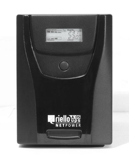 Riello NPW 2000 sistema de alimentación ininterrumpida (UPS) 2000 VA 1200 W 6 salidas AC