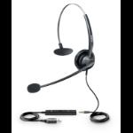 Yealink YHS33-USB headset Head-band Binaural Black