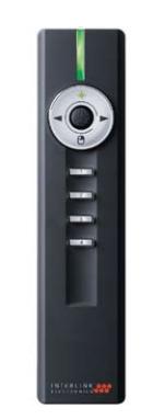Interlink Jade RF Black wireless presenter