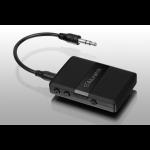 "Aluratek ABC01F wireless audio transmitter 3.5 mm 393.7"" (10 m) Black"