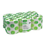 MAXIMA Maxima 2ply CentreFeed Roll 150m White (Pack 6)