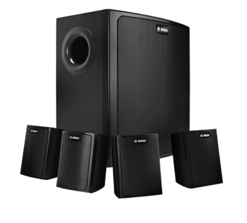 Bosch LB6-100S-D 30W Black speaker set
