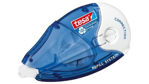 TESA Roller correction tape 14 m Blue, White 1 pc(s)