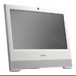 "Shuttle XPC all-in-one X50V7U3 White Intel SoC BGA 1528 39.6 cm (15.6"") Built-in speaker(s) Touchscreen 1366 x 798 pixels i3-8145U 2.1 GHz LCD"