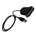 "4XEM 4XUSB1284P parallel cable 72"" (1.83 m) Black"