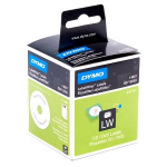 DYMO CD/DVD, Paper/White 57mm Diameter, 1 Roll/Box, 160 Labels/Roll