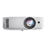 Optoma EH412ST data projector 4000 ANSI lumens DLP 1080p (1920x1080) 3D Desktop projector White