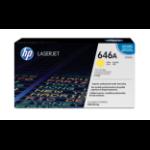 HP 646A tonercartridge 1 stuk(s) Origineel Geel
