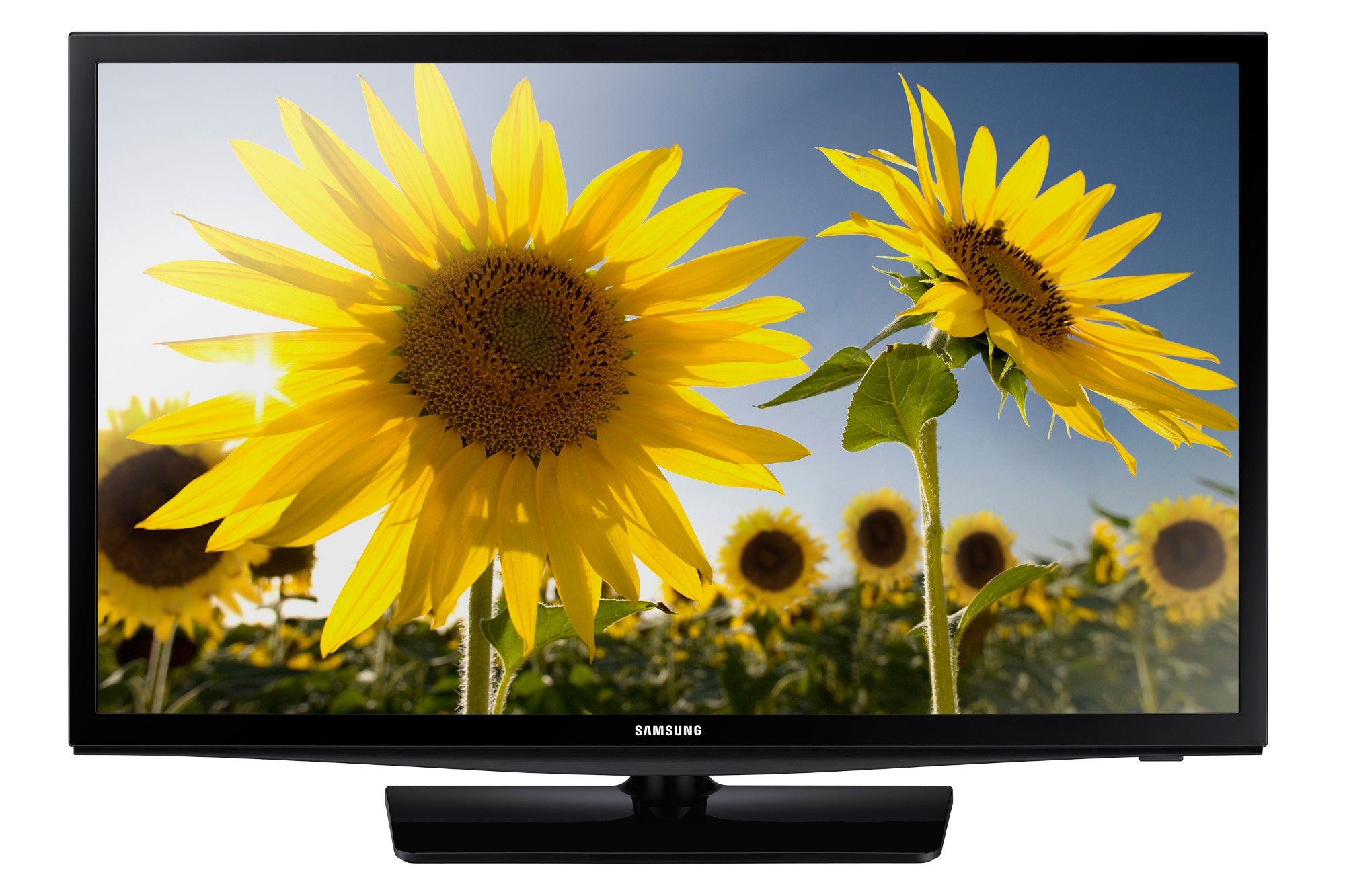 "Samsung UE19H4000AW 19"" Black LED TV"