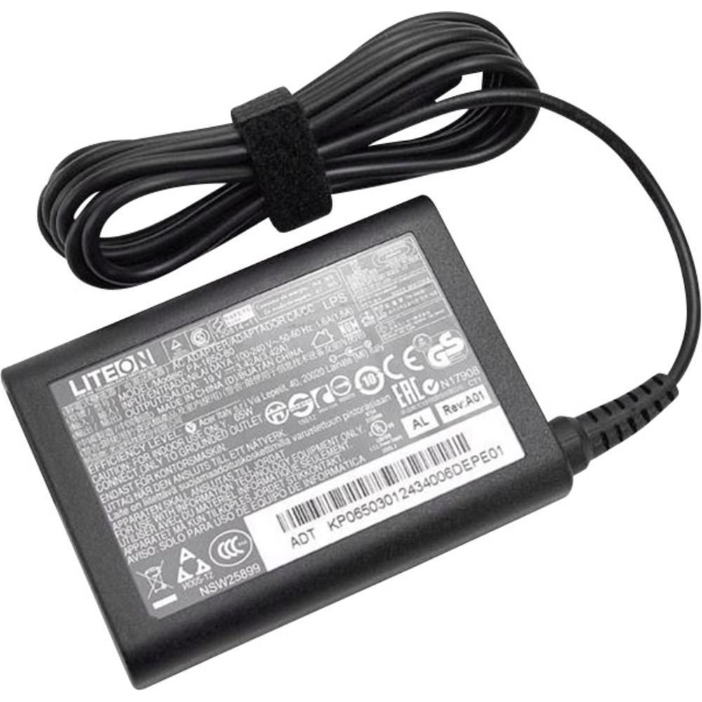 Acer AC Adapter (65W 19V) Black - Approx 1-3 working day lead.