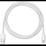 eSTUFF ES601201-80PCS lightning cable 2 m White