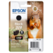 Epson Squirrel Singlepack Black 378 Claria Photo HD Ink