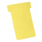 Nobo T-Cards Size 2 Yellow (100) index card