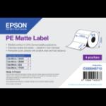 Epson PE Matte Label - Die-cut Roll: 102mm x 51mm, 2310 labels