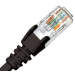 Cabac Hypertec 2m CAT6 RJ45 LAN Ethernet Network Black Patch Lead