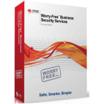 Trend Micro Worry-Free Business Security Services V3, 6-10u, 1Y, RNW 6 - 10license(s) 1year(s)